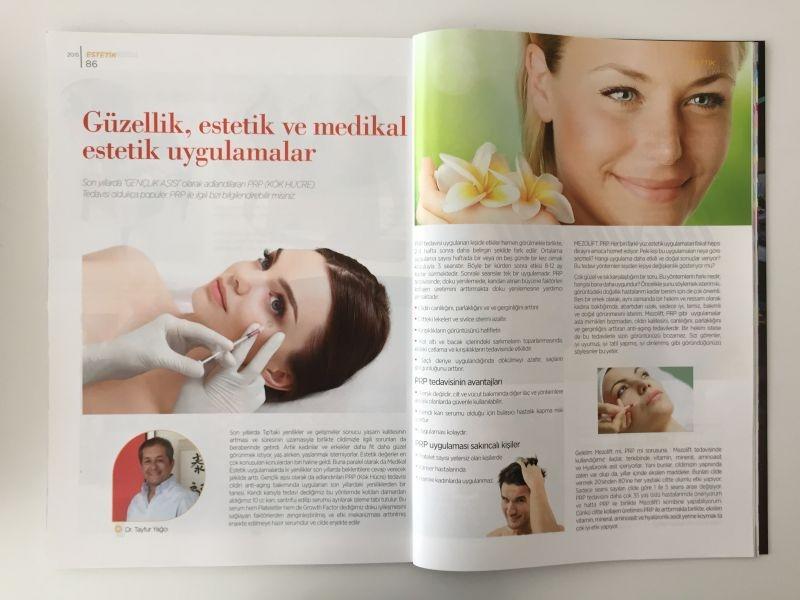 3+1 Dergisi Güzellik Estetik Ve Medikal Estetik Uygulamalar