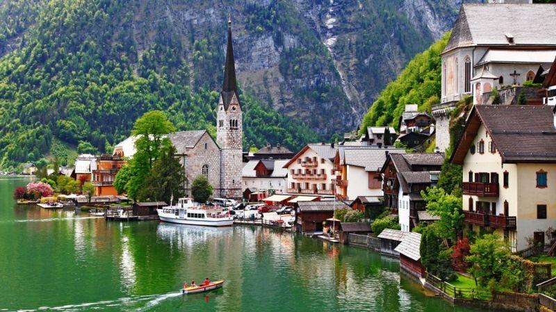 Dağlar, Göller Ve Yeşillikler Ülkesi İsviçre
