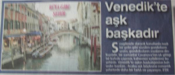 Venedik'te Aşk Başkadır