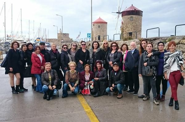 Türk Ressamlar Şövalyeler Adası RODOS'ta