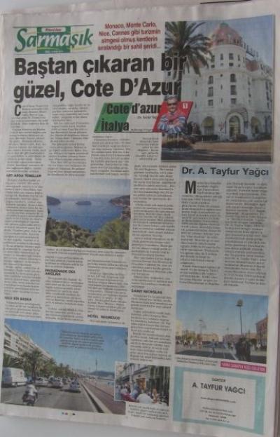 Fransa ve İtalya - Cote d'Azur