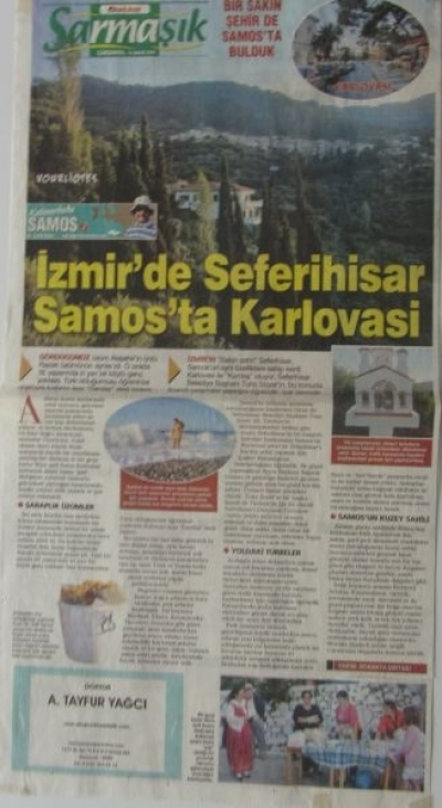 Yunanistan - Kalimerhaba Samos